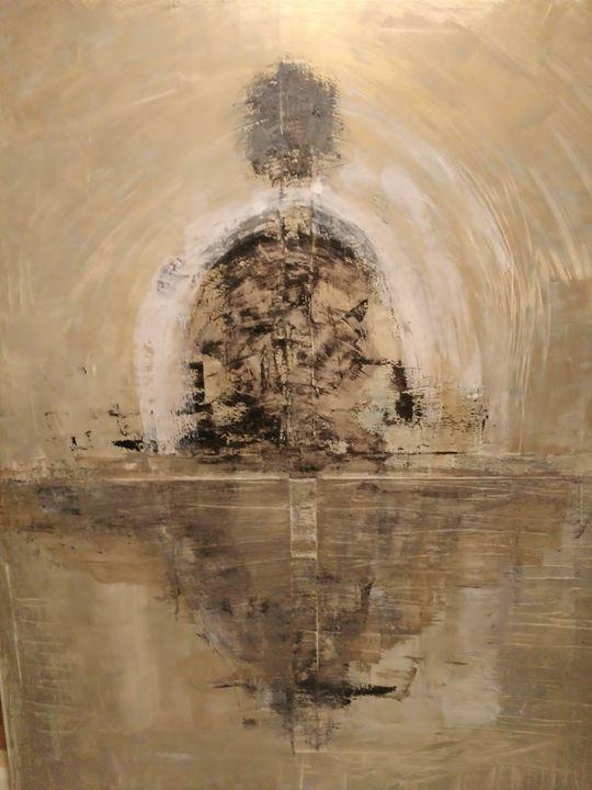 Inner vision of the Sainte Chapelle - GRUBERT