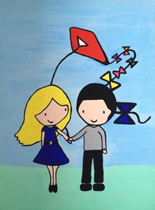 Let go and fly a kite