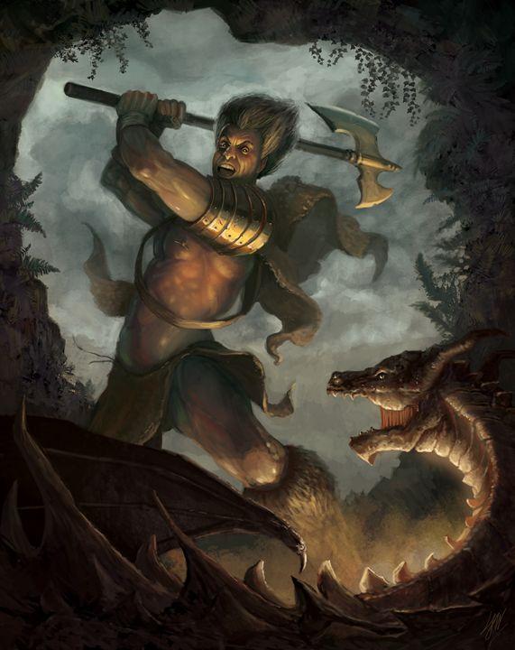 The Slayer - Larry Wilson Art