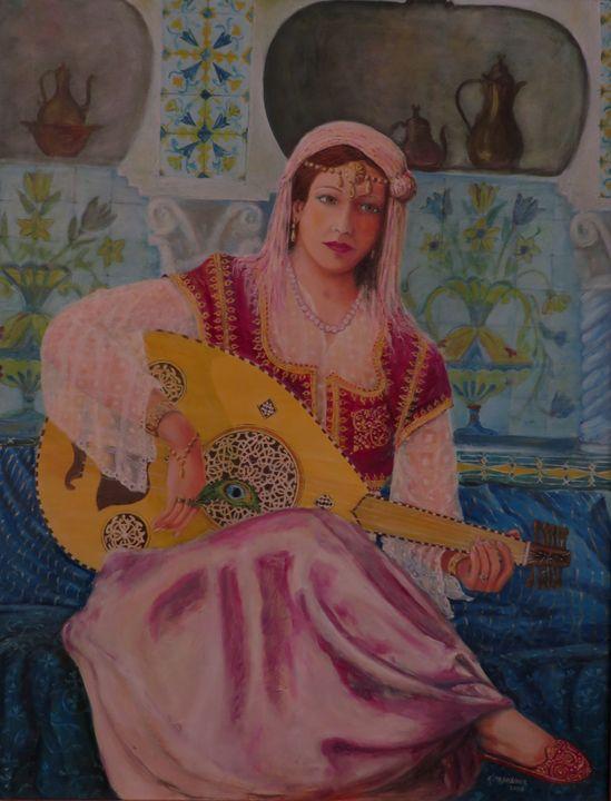 L'Algéroise (algiers woman) - Lumiart