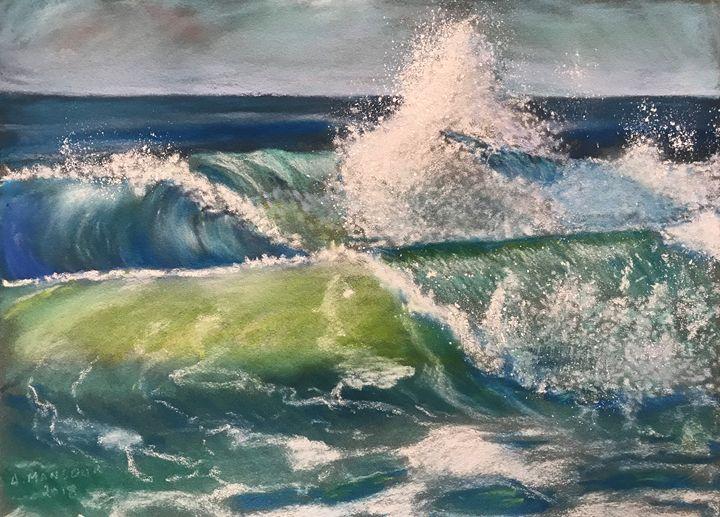 vagues océanes - Lumiart