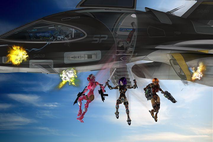 Air Raid - EVO Universe