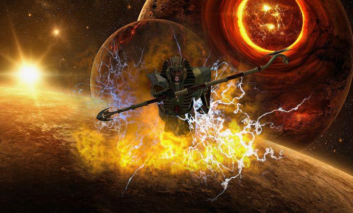 The Eye of Ra is Coming - EVO Universe