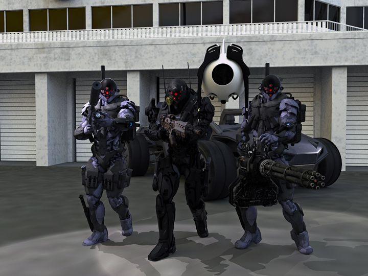 On Patrol - EVO Universe