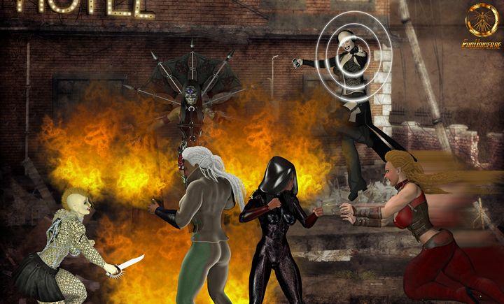 Girl Wild Fight - EVO Universe