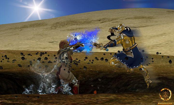 Gods come to blows - EVO Universe