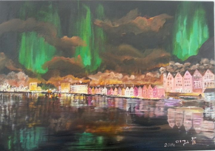 Aurora - Eli Gross Art