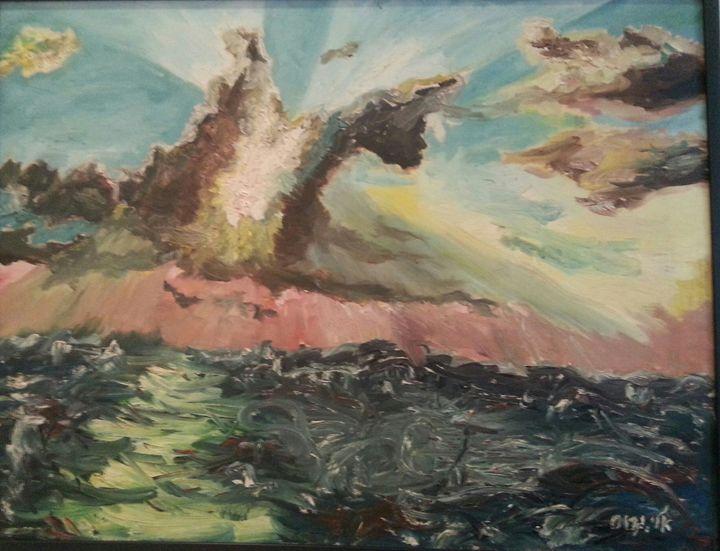 Youth dream #1 - Eli Gross Art