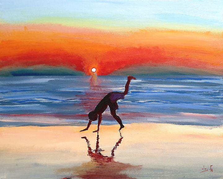 The great ocean - Eli Gross Art