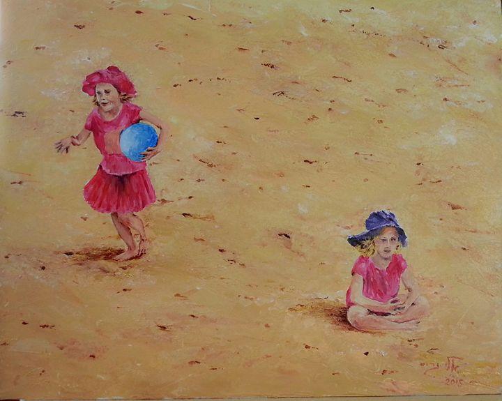 Sydney Manly beach - Eli Gross Art