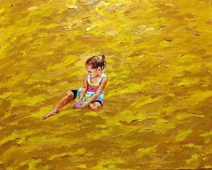 Abigail dreaming - Eli Gross Art