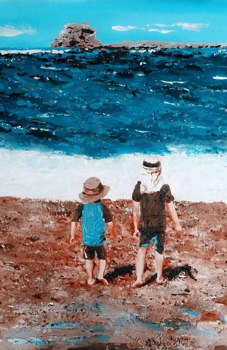 Jordan & Daniel - Eli Gross Art
