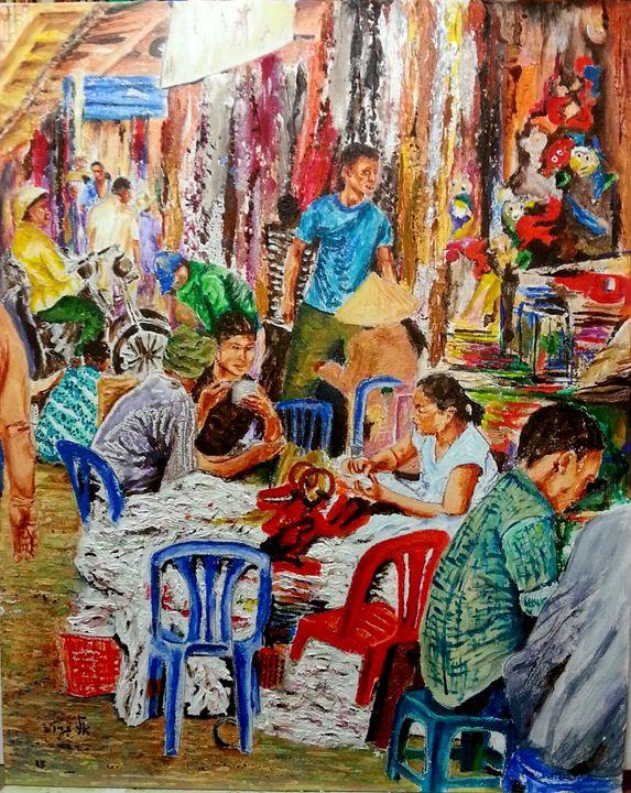 Binh Tay Market - Ho Chi Minh City - Eli Gross Art