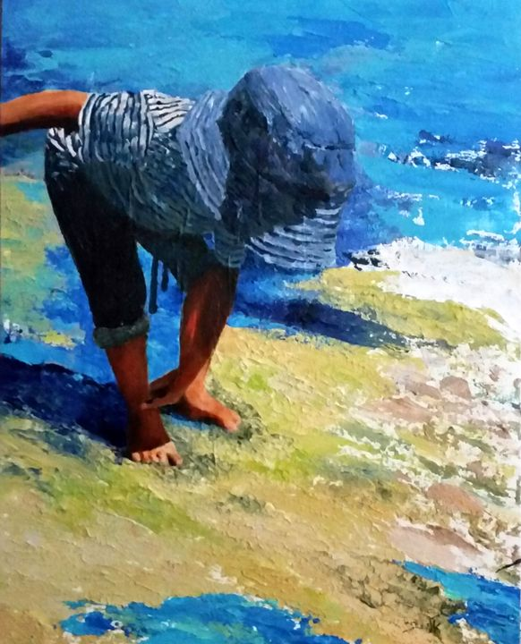 Pause - Eli Gross Art