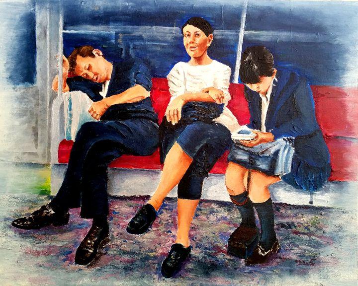 Underground  Trilogy   (3) - Eli Gross Art
