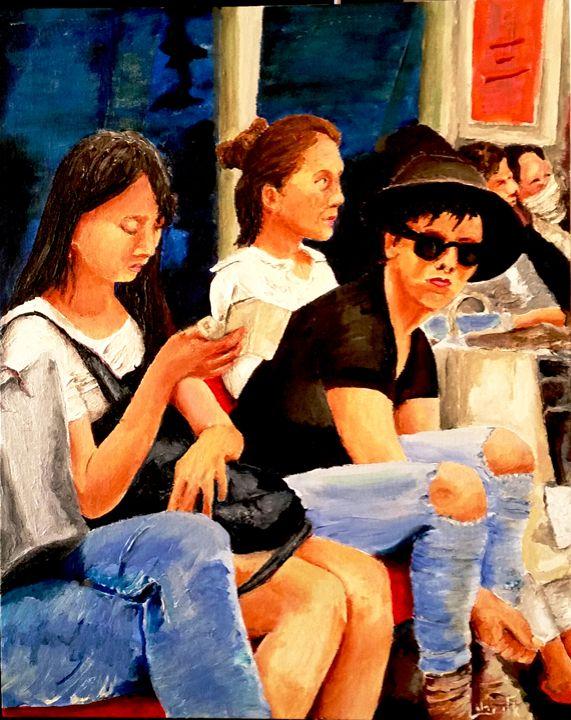 Underground  Trilogy   (2) - Eli Gross Art