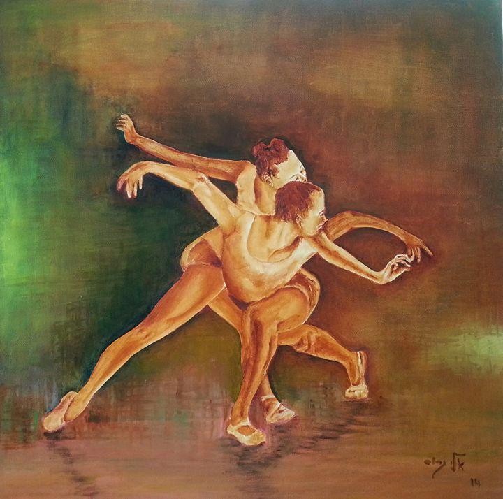 Emtion in motion - Eli Gross Art
