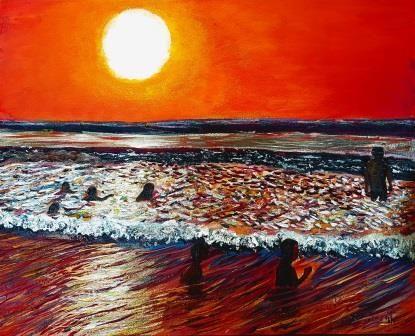 Sunset - Eli Gross Art