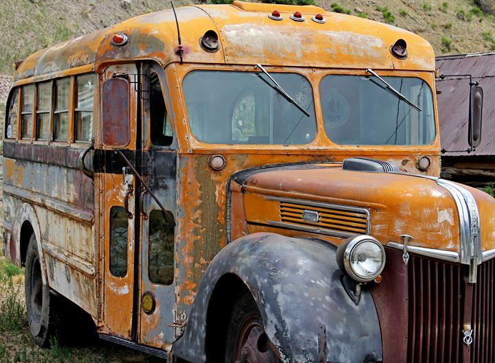 Old School Bus III - Falconz Eye Imagery