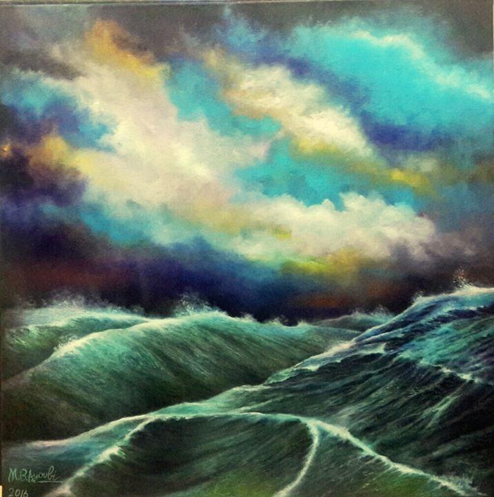 The Livid Sea - M.B.Ayoubi