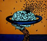 Brain with ants