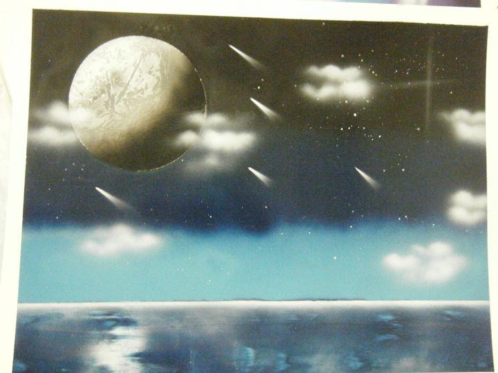 Moonlit Ocean - MSYart