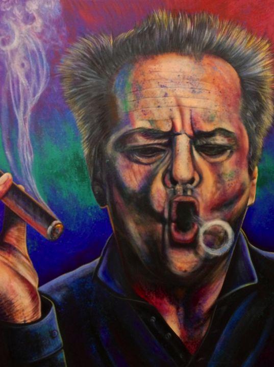 Jack Nicholson Cigar - Lopa Studios