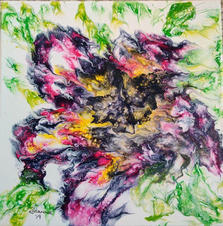 Abstract flower - Rosanne's art