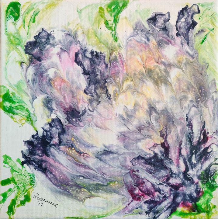 Abstract - Rosanne's art
