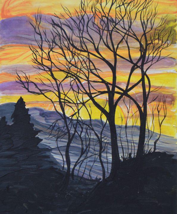 October Sunset - Marigrace Zito