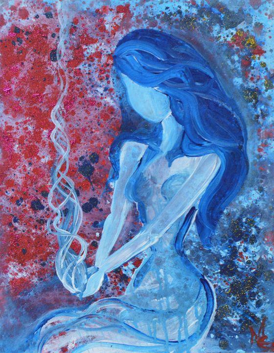 Blue smoke - Marigrace Zito