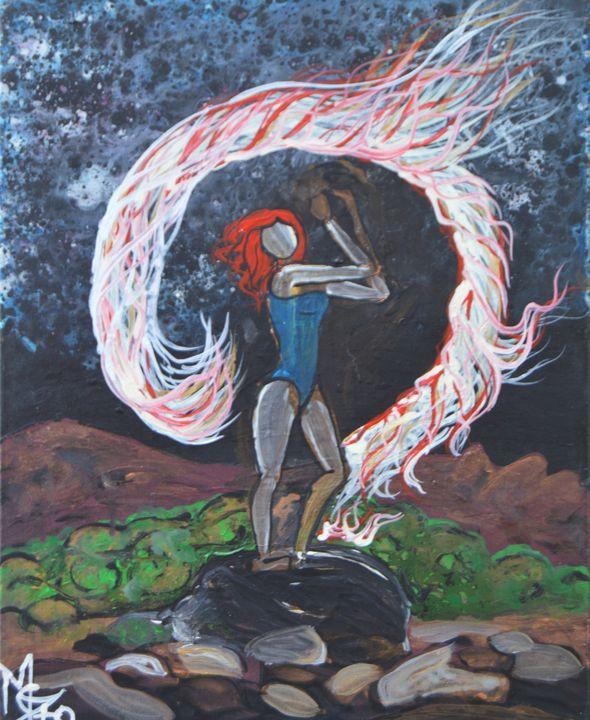Fire dancer - Marigrace Zito