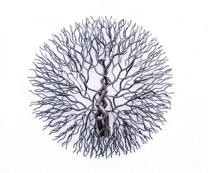 The tree of life ( Metal art ) - Planet of metal