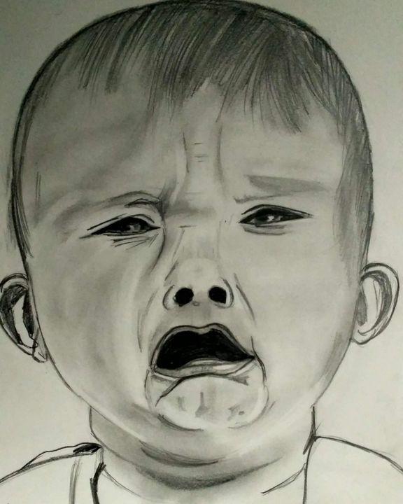Baby crying - @dianaarts