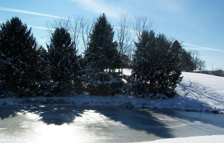 winter pond - ninasoriginals