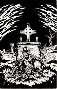 Zombie grave cover