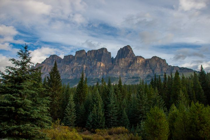 Castle Mountain - Aditon Art