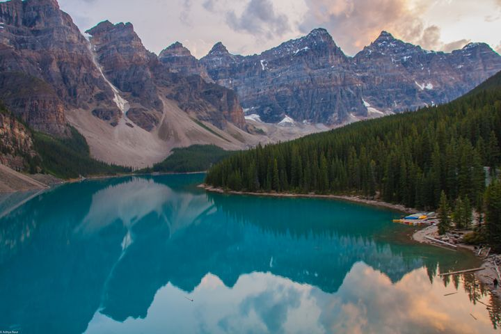 Moraine Lake - Aditon Art