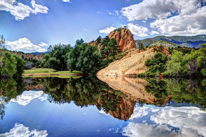 Mirror or a pond? - Aditon Art