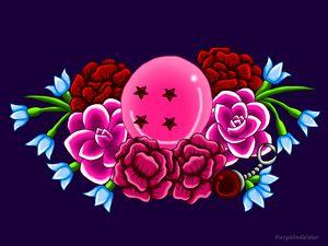 In. Janaury Birthstone Dragonball #4