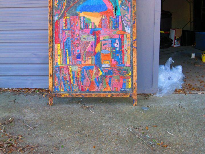 Bottom Shot, The City - dwaynes art
