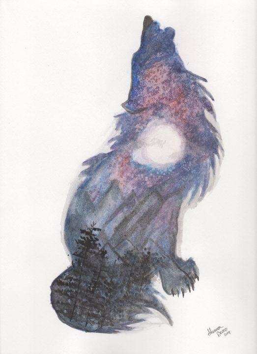 Howl at the moon - Artfulzen
