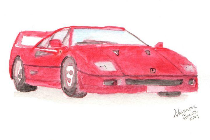 Ferrari F40 - Artfulzen
