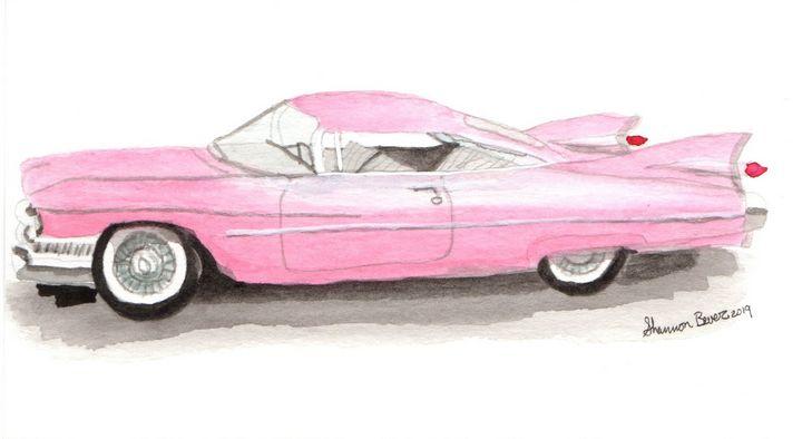 Pink Cadillac - Artfulzen