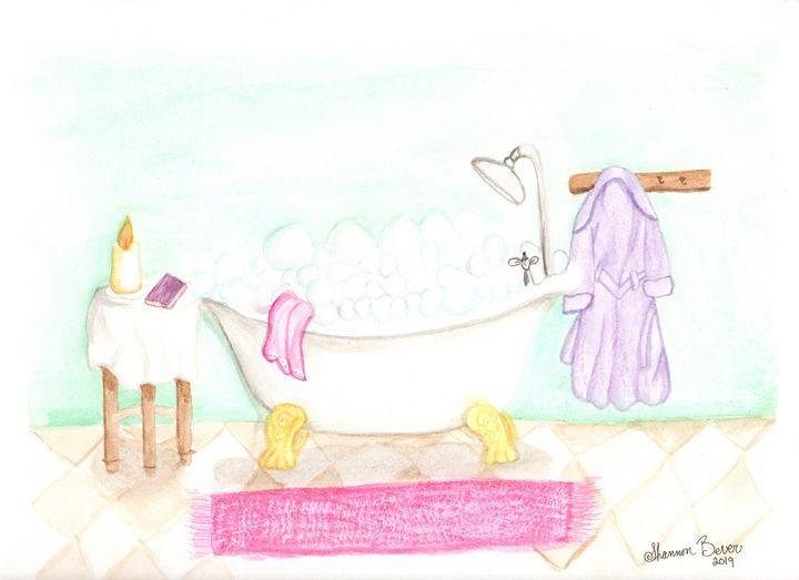 Bubble Bath - Artfulzen