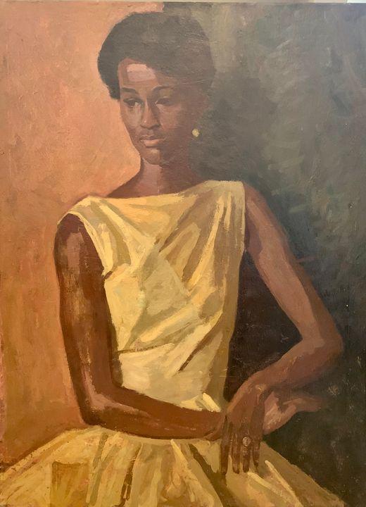 'Lady from Paramaribo' - Tradewinds Art