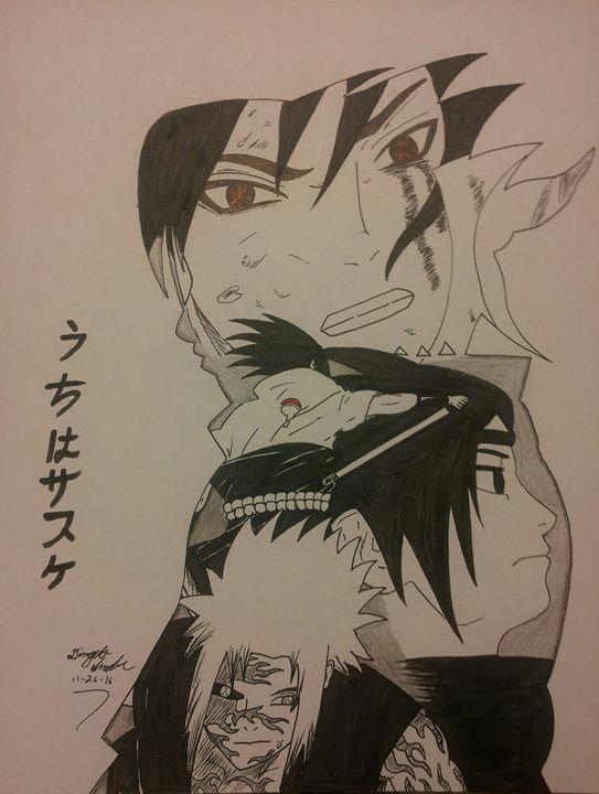 Life of uchiha sasuke - D'Angelo Alexander