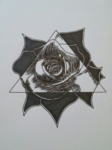 eye of the rose