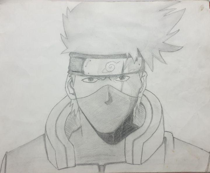 Kakashi from Naruto(series) - Anime Drawings