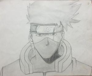 Kakashi from Naruto(series)